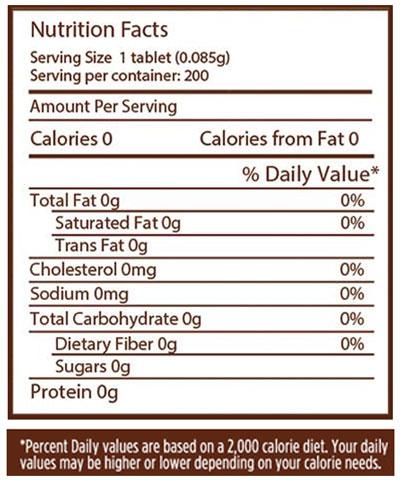 stevia-nutrition